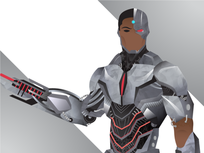 The Machine justiceleague love dc releasethesnydercut cyborg dccomics dribbble graphicdesign shot vector follow illustration design