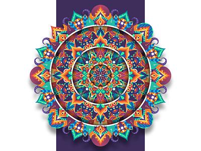 RISE spiritual zentangle zen mandalas mandala art mandala abstract graphicdesign shot vector follow design illustration