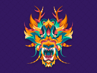 The Myth creature mythology dragon adobe abstract dribbble graphicdesign shot vector follow design illustration
