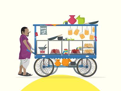 Just Chennai things! adobe chat shop vendor india chennai graphicdesign vector follow design illustration