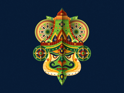 Kathakali with an abstract twist