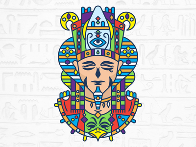Horus follow shot eye horus illustration vector design egypt gods