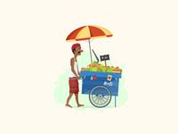 Tender Coconut Seller