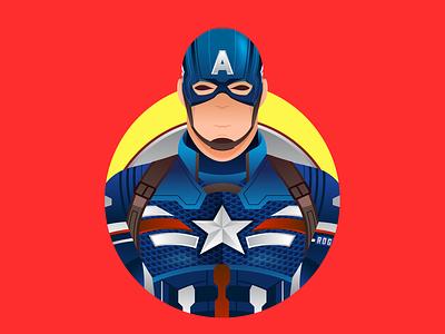 Captain America movie captainamerica superhero comic marvel character graphicdesign shot vector follow illustration design