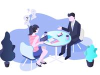 Job interview  attachment