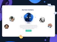 Core team members   Webiz
