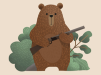Rifle bear
