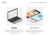 Axiom Zen Website Redesign