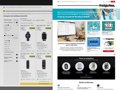 Consumer helper site - Website desktop mockups website design website design sketch ui mockups desktop
