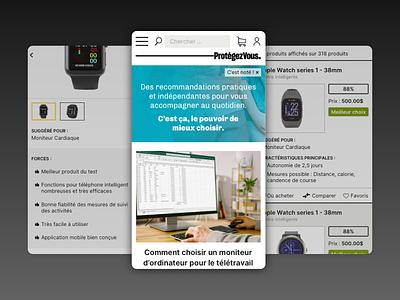 Consumer helper site - Website mobile mockups mobile first mobile ui mobile design mobile design ux sketch ui