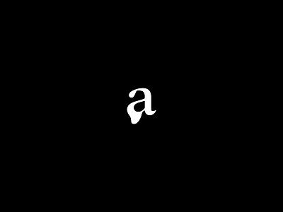 a  — Personal logo black and white letter art letter a art illustration logomark minimal logotype branding caligraphy lettering letter typo logo typogaphy type minimal logo personal logo a a logo logo