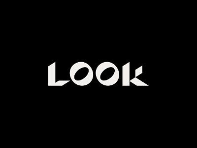 LOOK Studio — Logo art direction ui design ui  ux identity branding agency minimal lettering lettermark agency logo studio logo agency studio look sans serif typogaphy logo ui branding