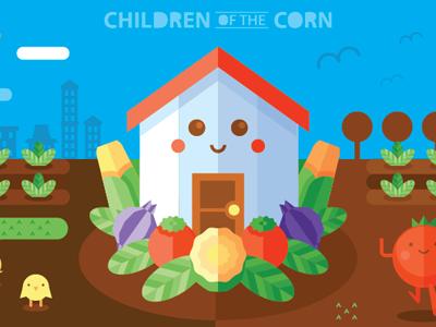 Children of the corn house