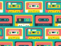 Cassette Tape Texture