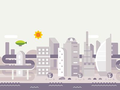 Dubai sun green uae dubai geometric illustration city geometric vector