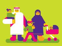 Emirati family 2x
