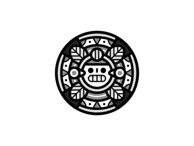 Ancient vectober2019 black and white helbetico skull pattern texture geometric vector inktober2019