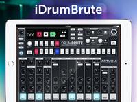 Arturia DrumBrute iPad concept + free Sketch file