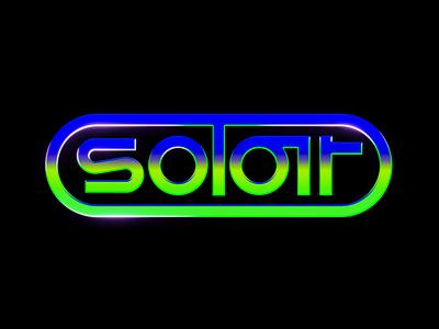 Solar logo logomark logodesign logo