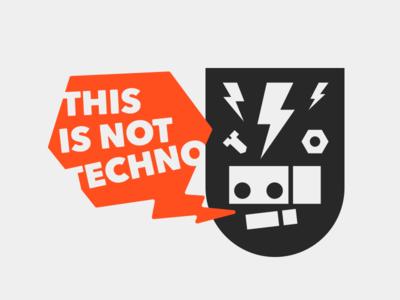 Not techno print