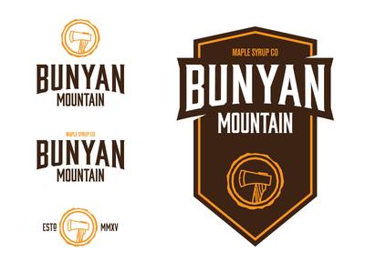 Bunyan Mountain Logos