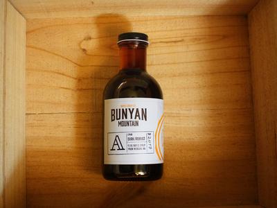Bunyan Mountain bottle and label
