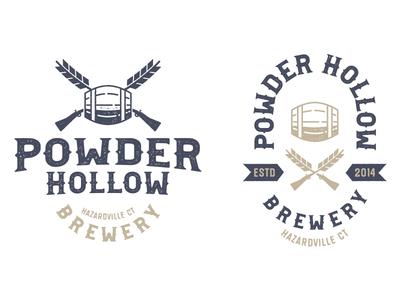 Powder Hollow Logos