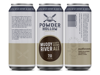 Powder Hollow Beer Can Concept