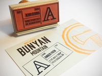 Ruber Stamp Label