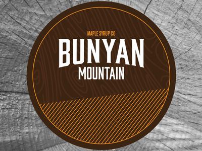 """Bunyan Mountain """"Dark Side"""" Coaster"""