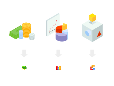 Some icons we did for a startup homepage & dashboard. icons small big analytics icon implementation money monetization stats pie chart 16