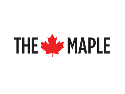 The Maple Logo logo branding canada zine