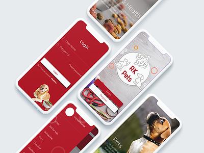 Pet Shop pets mobile ui