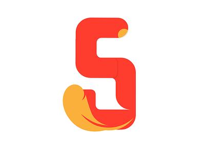 Skerative Logo branding feather logo logo