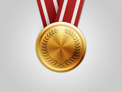 Gold Medal gold medal achievement award gaming openkit