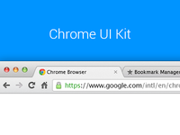 Chrome UI Kit v.2