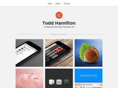 Portfolio Update portfolio website personal