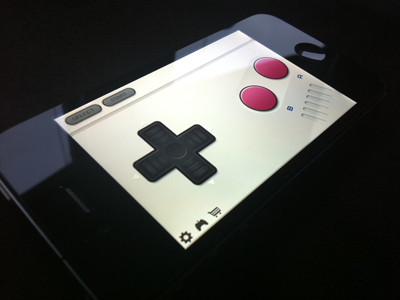 Joypad skin iphone skin controller app ios game boy dpad