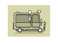 Vector Graphics — Ice Cream Truck 02