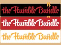 Calligraphic Logo — the Humble Bundle