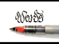 Calligraphy — Words