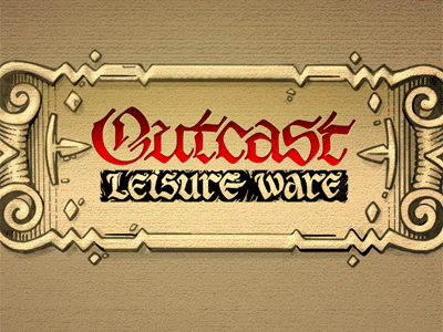 P0020 calligraphy outcast