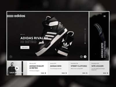 Adidas shop site