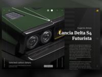 Website Lancia Delta S4 detail