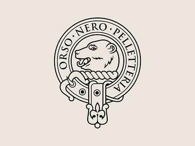 Orso Nero branding logo