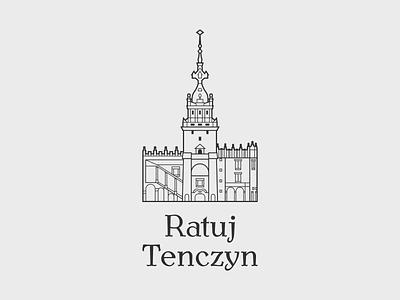 Ratuj Tenczyn branding logo
