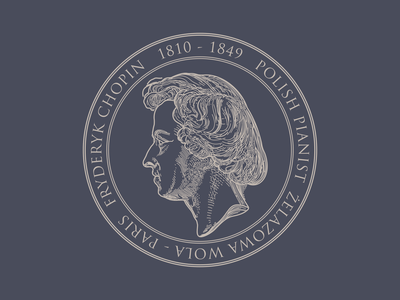 Frederic Chopin Stamp stamp