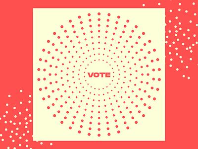 Vote art direction digital design graphic design