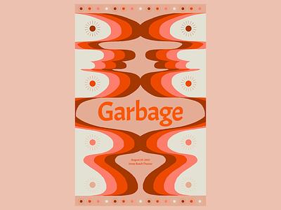 Garbage flyer design illustration typography show flyer show poster art direction digital design graphic design