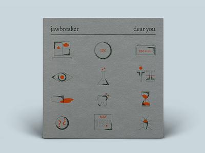 Jawbreaker Dear You jawbreaker design digital drawing illustration art direction digital design graphic design